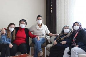 serpil talasli komsularla maske farkindaligi