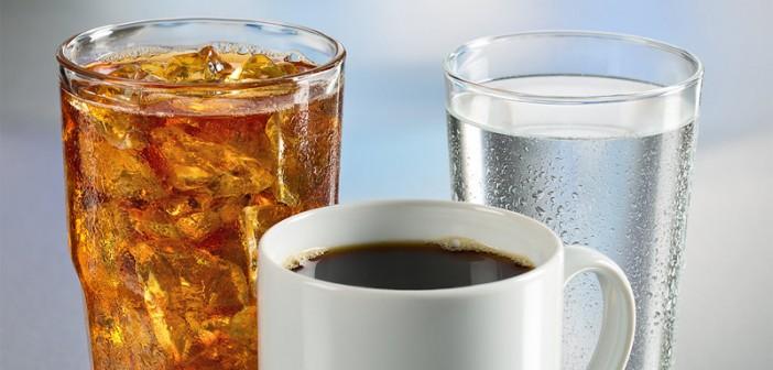 Cay, Kahve, Meşrubat, Su